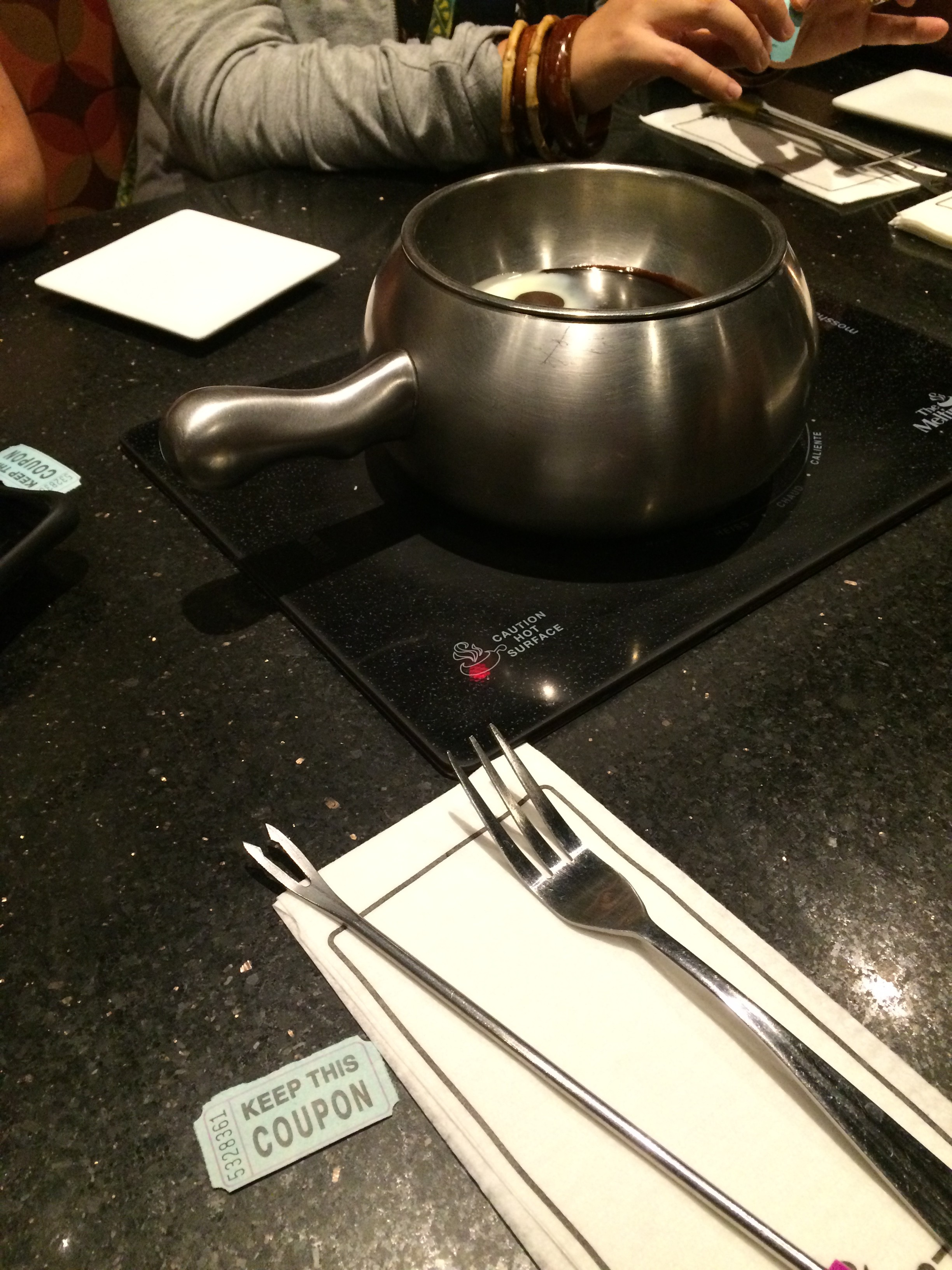 It wouldn\'t be back to school at THF without fondue and raffle tickets