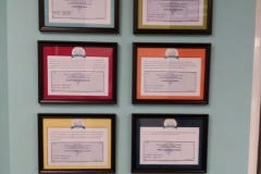 The Hello Clinic Certificates
