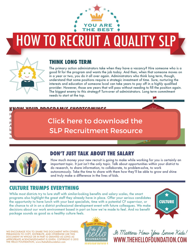 click here to download the slp recruitment resource