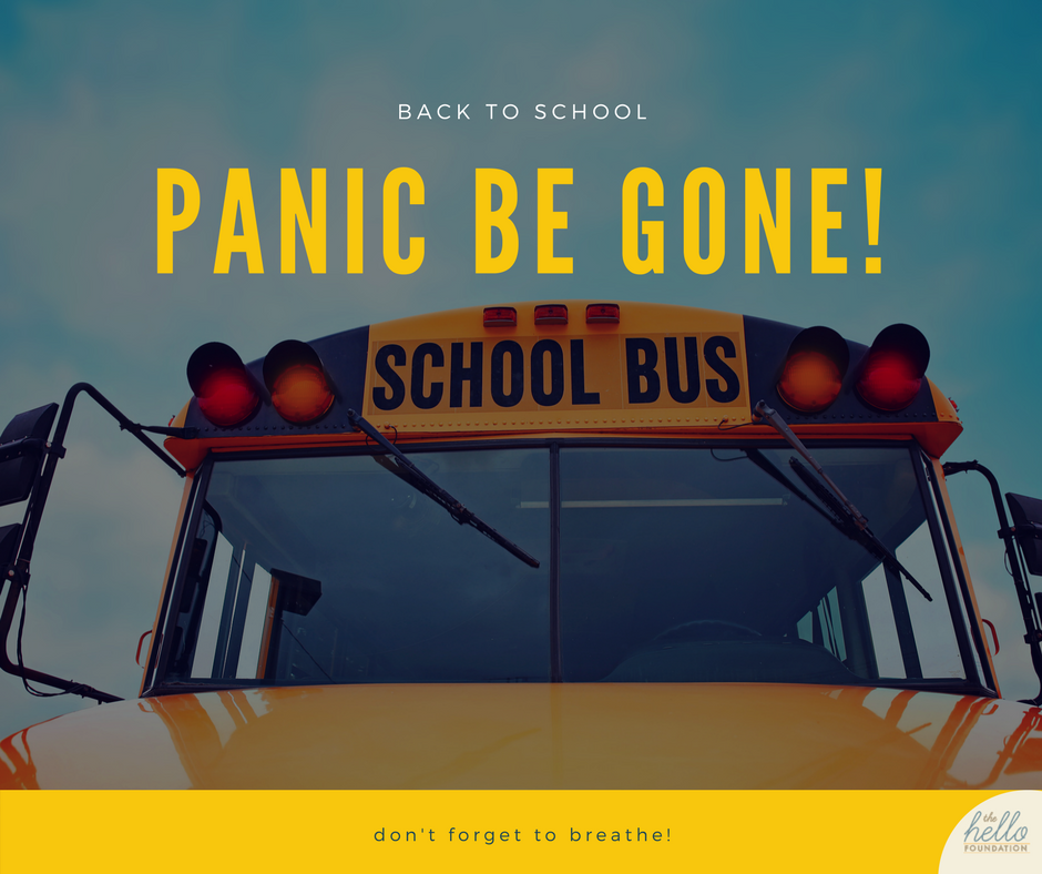 back to school panic