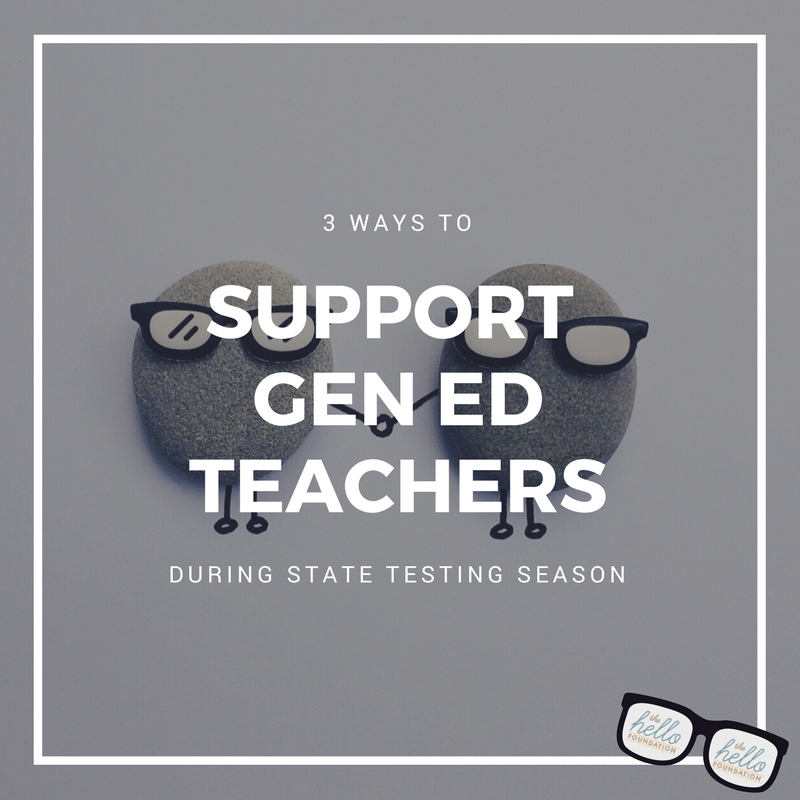 Support GenEd Teachers