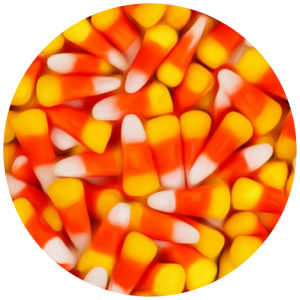Candy bag candy corn
