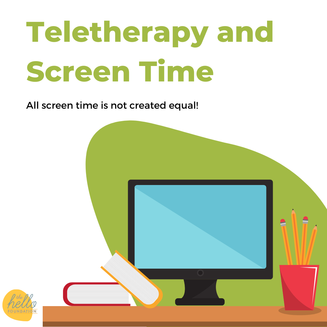 teletherapy and screen time