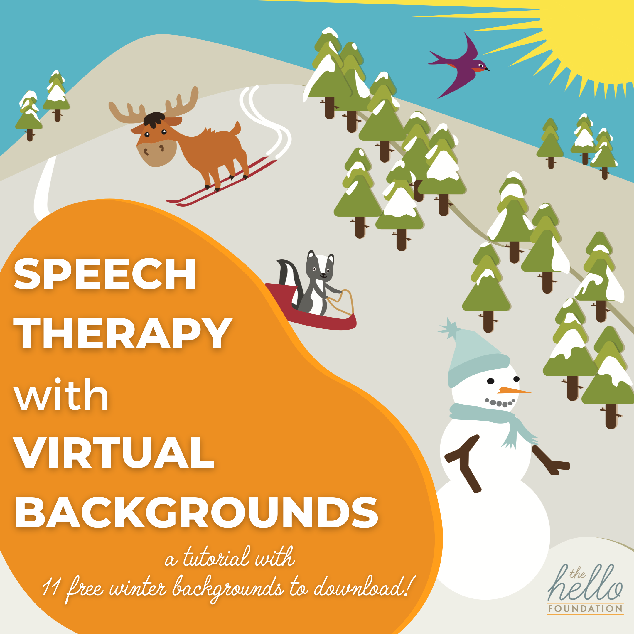 Speech Therapy with Virtual Backgrounds Tutorial