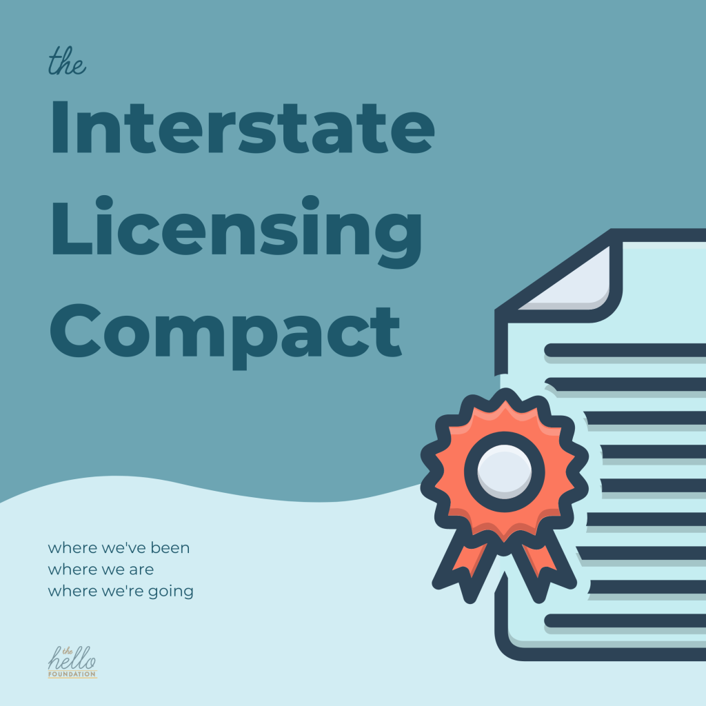 interstate licensing compact graphic